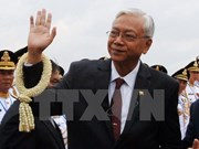 Le président du Myanmar commence sa visite en Chine