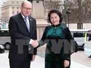 La présidente de l'Assemblée nationale en visite en Suède