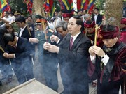 Fête du Temple des rois Hung à Phu Tho