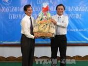 Une délégation de Dông Thap en visite au Cambodge