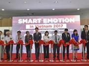 Industrie : ouverture de l'exposition Smart Emotion 2017 à Hô Chi Minh-Ville