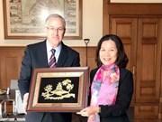 L'Ambassadrice du Vietnam reçue par le maire de Rotterdam