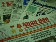 """Vietnam-Chine: pour une coopération plus efficace entre le """"Nhan Dan"""" et le """"Quotidien du Peuple"""""""