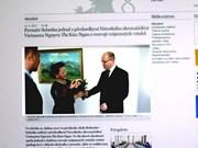La presse tchèque couvre la visite de la présidente de l'AN Nguyên Thi Kim Ngân