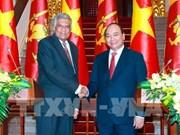 Approfondissement des relations Vietnam-Sri Lanka