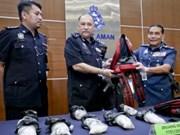 La Malaisie déterminée à lutter contre la drogue