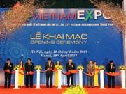 Ouverture de la Vietnam Expo 2017