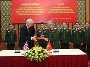 Promouvoir la coopération Vietnam - Royaume-Uni dans la défense
