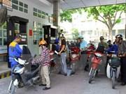 Hausse de 350 dôngs du prix de l'essence et du pétrole