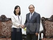 Le Premier ministre reçoit la directrice générale du groupe taïwanais Pou Chen