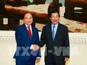 Le PM Nguyen Xuan Phuc envoie ses remerciements à son homologue cambodgien