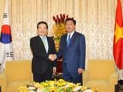 Hô Chi Minh-Ville accueille  le président de l'AN de la R. de Corée