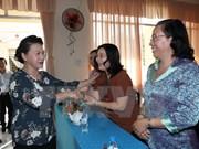 Nguyen Thi Kim Ngan à l'écoute des électeurs de l'arrondissement de Ninh Kieu
