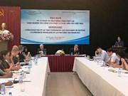 La France partage ses expériences sur les activités d'huissier avec le Vietnam