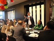 Les entreprises de la province de Hoa Binh sonde des opportunités d'affaires à Melbourne