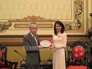 Ho Chi Minh-Ville : coopération dans la formation de stagiaires au Japon