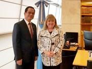 L'ambassadeur du Vietnam en Argentine à l'honneur