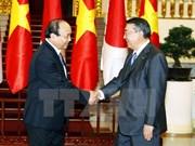 Le PM reçoit le président de la Chambre des représentants japonais Oshima Tadamori