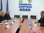 Vietnam - Roumanie : promouvoir la coopération décentralisée