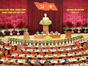 Quatrième journée de travail du 5e Plénum du Comité central du Parti