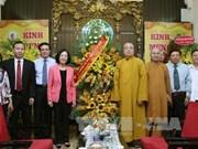 Anniversaire du Bouddha : des dirigeants vietnamiens formulent leurs vœux aux bouddhistes