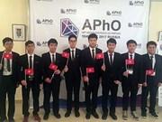 Le Vietnam remporte une médaille d'or aux Olympiades de physique d'Asie 2017