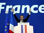 Félicitations au Président élu français
