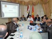 Colloque sur les opportunités, défis et perspectives de coopération Vietnam-Egypte
