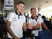 Le Onze argentin U20 est arrivé au Vietnam