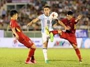 Le match amical U20 Vietnam-Argentine se termine au score 1-4