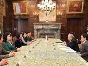 Dang Thi Ngoc Thinh salue le soutien de la Chambre des Conseillers du Japon pour le Vietnam
