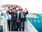 Diplômes australiens pour les pilotes de ligne vietnamiens