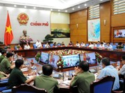 Le chef du gouvernement souligne l'importance de l'assurance de la sécurité et de l'ordre public