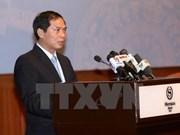 Ouverture de la 2e réunion des hauts fonctionnaires de l'APEC