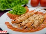Crevettes saupoudrées de sel de Tây Ninh