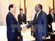 Le président Trân Dai Quang reçoit l'ambassadeur du Soudan