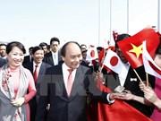 Le Premier ministre arrive à Tokyo pour une visite officielle au Japon