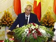 L'entretien Tran Dai Quang-Milos Zeman vu par la presse tchèque
