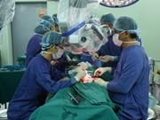 Reconstruction faciale pour patient atteint d'une tumeur du visage