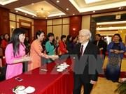 Le secrétaire général du PCV rencontre les femmes députées