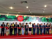 Ouverture du Salon international Mekong Beauty Show 2017 à HCM-Ville