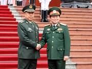 Pour le resserrement des liens entre les deux armées Vietnam-Chine