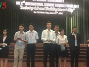 Forum scientifique international des jeunes à Ho Chi Minh-Ville