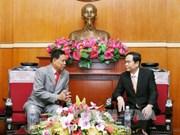 Vietnam-Cambodge : le président du FPV reçoit un responsable du FSDPC