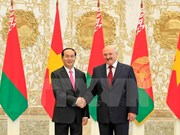 Vietnam-Biélorussie: entretien entre les deux présidents Trân Dai Quang et Alexander Lukashenko