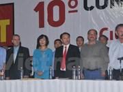 Renforcement de la coopération entre le PCV et le Parti du travail du Mexique