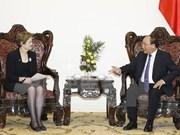 Nguyen Xuan Phuc reçoit l'envoyé spécial du PM australien