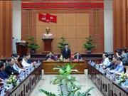 Quang Nam renforce la coopération avec des localités laotiennes
