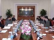 Renforcer les relations entre le PCV et le PAP de Singapour