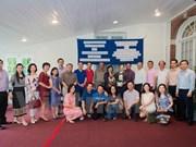 Echange d'amitié entre les ambassades du Vietnam et du Laos aux Etats-Unis